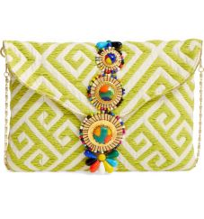 Embroidered Clutch by Steven by Steve Madden